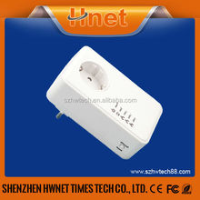 500Mbps 3 Ports Passthrough powerline network adapter