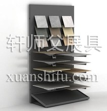 Pink Artificial Stone exhibition stand in guangzhou
