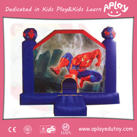 Spiderman Kids and Adults Bouncy House Slide
