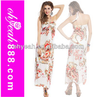 2014 Hot exotic strapless sleeveless sexy plus size wholesale bohemian dresses casual maxi dress