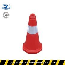 Lower Factoty Price height 50cm Soft Flexible PE plastic traffic cone