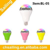 2015 wireless smart led bulb bluetooth speaker ,2015 new products bluetooth speaker led bulb