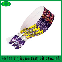 Concert/party/event/fabric festival woven ticket wrist band/armband