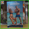 Dye Sublimation Printed Fabric Banner Stand With Silicon