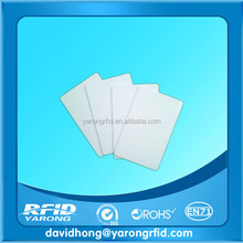 PVC Plastic PET ID/IC LF/HF/UHF RFID Card