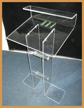 plexiglass computer desk of Executive Desk in office / outdoor / Furniture