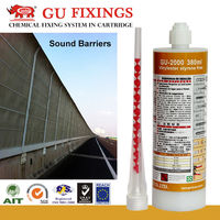 High strength fasteners epoxy resin sealant for road construction