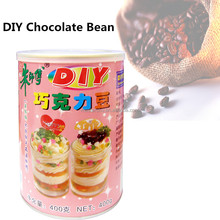 Hot Sale! DIY Chocolate Bean Milky Chocolate Chips with English Label 400g