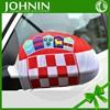 Croatia car mirror cover sock fabic car side cover flag for advertising