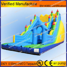 Home and mall used commercial giant inflatable slide for kids or adult