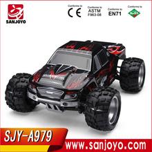 2015 Monster truck! juguetes para coches RC 1:18 2.4 G 50 KM/H alta velocidad del coche de competición mini venta al por mayor traxxas RC cars SJY-A979