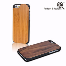 Factory wholesale high quality customize walnut wooden cases for iphone 6