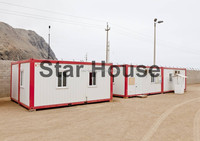 ready made foldable house for office booth guard camp