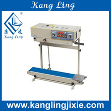 Vertical Type Continuous Band Sealer for Bag/Vertical Continuous Band Sealing Machine for Bags