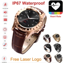 IP67 Waterproof Bluetooth 1.33 Inch MTK6260 IPS diving camera watch