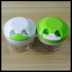 Kitchen Helper Plastic Stainless Steel Manual Vegetable Chopper, Manual Plastic Vegetable Chopper, mini food processor swift