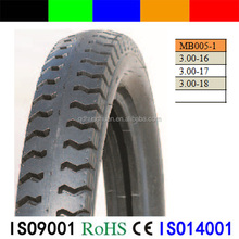 China Professional Manufacturer Motorcycle 3.00-16/17/18 tubes tyre