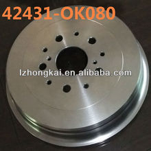 ISO customized disc brake for toyota/auto parts