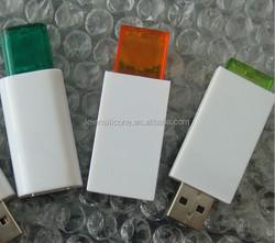 new product plastic usb thumb drive, customized plastic usb flash 2gb, 4gb, 8gb, 16gb