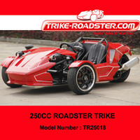 EEC 250cc Trike With Water Cooling Engine With 250cc zongshen engine