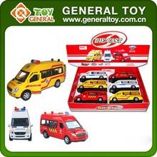 Shantou toys Die Cast Ambulance Toy Car
