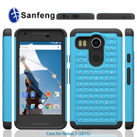 Diamond jewels combo super quality custom printing logo cover for Nexus 5 2nd 2015 phone case
