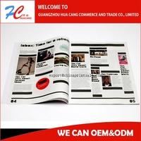 High Quality Fashion Magazine Printing