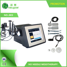portable no needle mesotherapy machine transporting beauty products