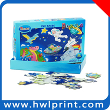 game puzzle tin box fruit puzzle play paper jigsaw puzzle