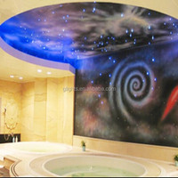 ceiling decoration,Side Glow Fiber optic sky lights