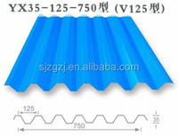 Good quality corrugated galvanized roofing color coated sheet metal roofing