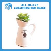 slim fashion style cute ceramic flower pot