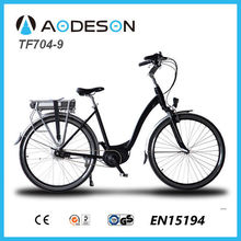 mid-drive electric city bike/electric bicycle Aodeson TF704-9