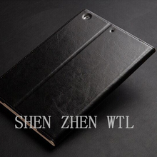 high quality pu leather cell phone case for ipad mini