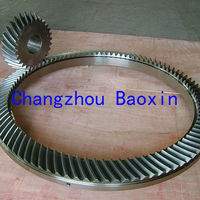 large spiral bevel gear for oil drilling rotary table