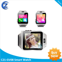 Made in china watch phone 1.6inch 240x240p QVGA screen 1.3MP Camera smart watch