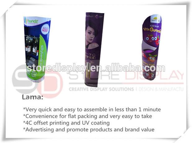 пользовательских лама дисплей для рекламы пищевых из китая поставщиком