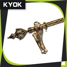 KYOK new designs wrought iron curtain rods wholesale & curtain rods factory , plastic hanging curtain rod