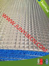 Blue Coating Al Foil Reflective Insulation / Anti-glare Foil- Xpe Foam Insulation For Roof Buildings