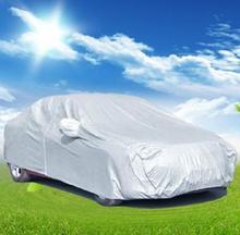 Silver Convinent Outdoor Homeuse Car Cover