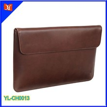 Hot new products for 2015 Fashion Leather laptop sleeve with 11 inch MacBook Air