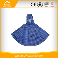 Hot Sale Custom Print Waterproof Cheap Polyester Rain Poncho