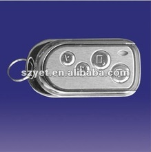 2012 home appliance 4 buttons rf universal metal remote control for fan regulator yet033