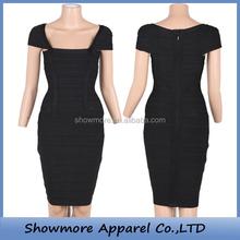 Style number D1017 beautiful mature women bandage dress