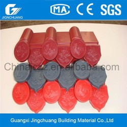 ISO9001Certificate Royal Style Plastic Resin Roofing tile