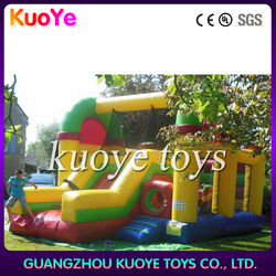 combination slide bounce house clown,bouncing playground,commerical jumping castles