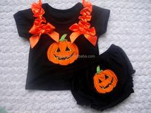 nuovi progetti di cotone popolari grossisti halloween vestiti del bambino per la vendita