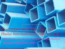 rectangular/square steel pipe/tubes/hollow section galvanized/black annealing at a good price