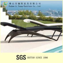 swimming pool adjustable sun bed outdoor furniture rattan LG-LG2503