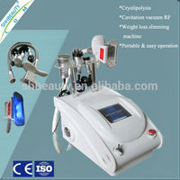 SH245D 3 IN 1 RF cavitation fat freeze good results/freeze sculpting fat /cold freeze fat loss machine for home use